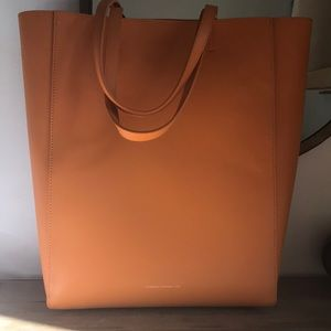 French Connection leather tote